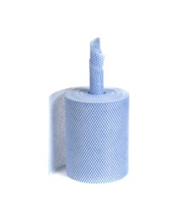Cleanworks Large Wiper Roll  2-pack Blue