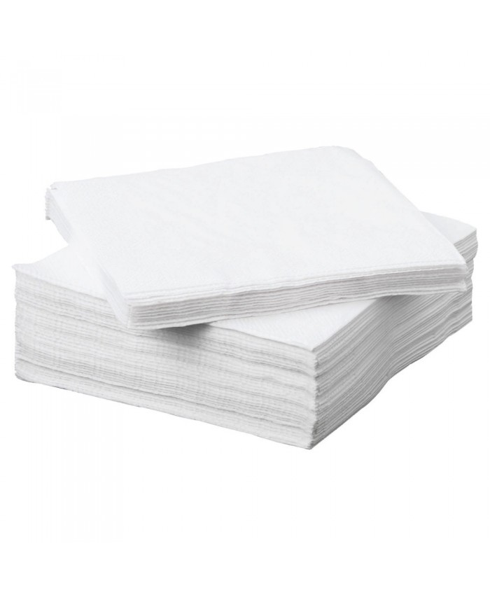 Serviettes / Napkins 2Ply White (2000 Per Case)