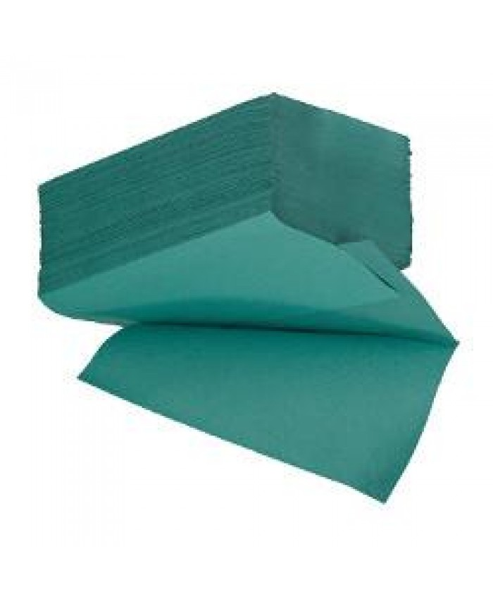 Inter-Fold Hand Towels Green 1 Ply (3600 Per Case)