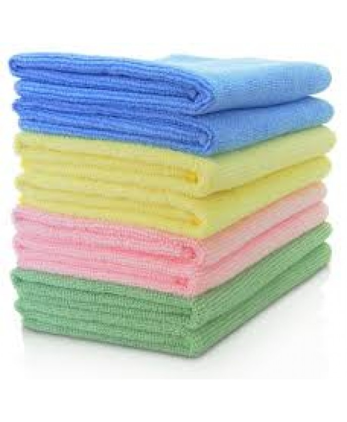 Professional Microfibre Cleaning Cloths Blue 40 x 40cm