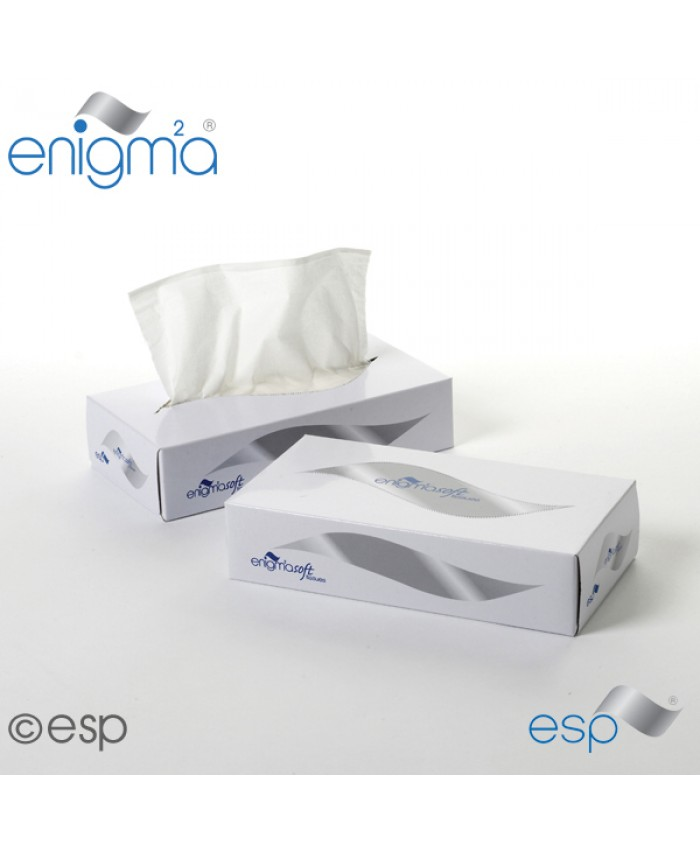 Facial Tissues 2ply White 100sh (36 Boxes Per Case)