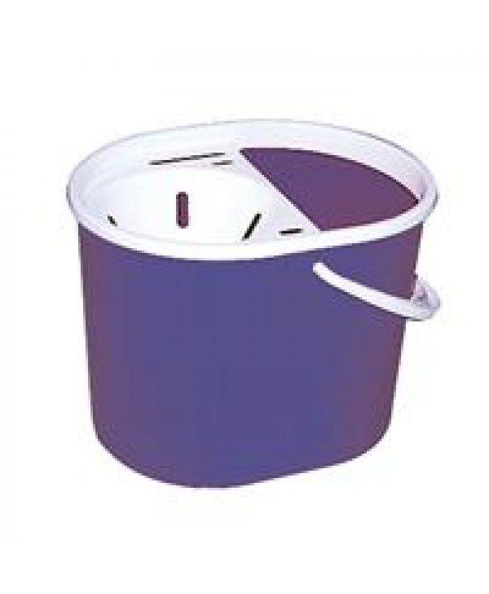 Lucy Plastic Oval Mop Bucket Blue