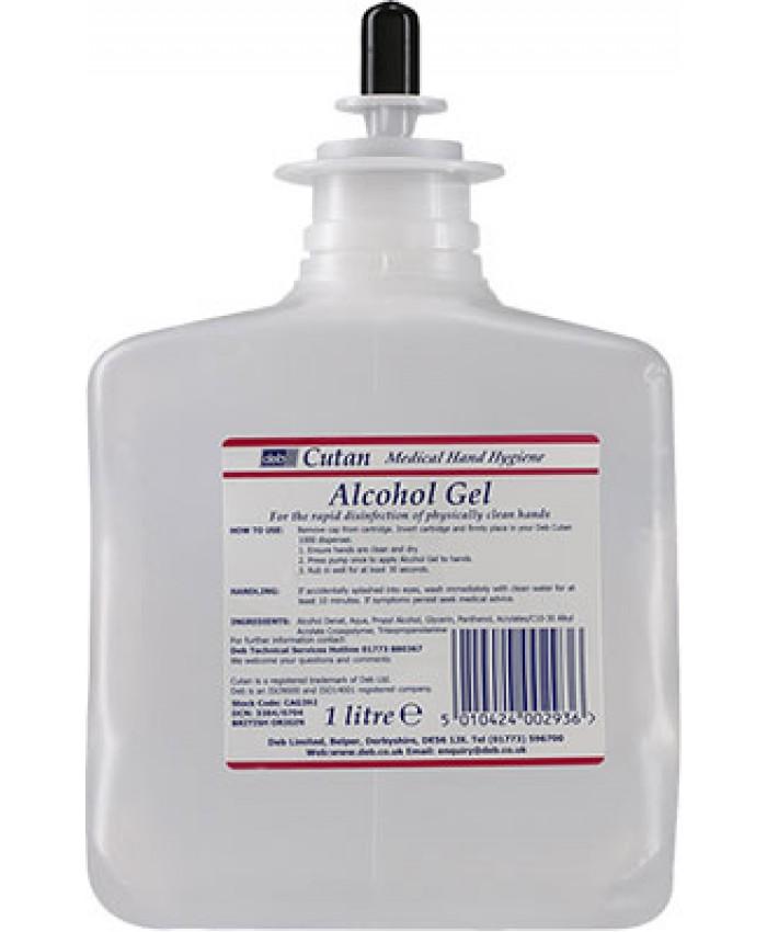 Cutan Gel Hand Sanitiser (1L) (Case of 6)