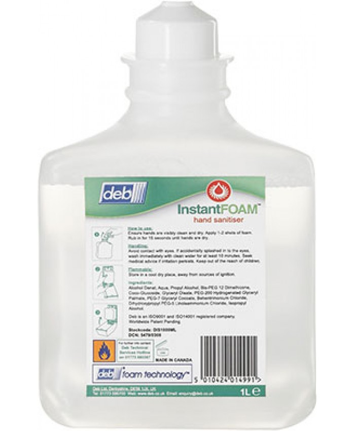 Deb Instant Foam Hand Sanitiser (Case of 6)