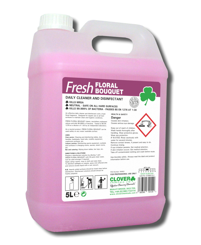 Floral Bouquet - Fragranced Daily Cleaner and Disinfectant