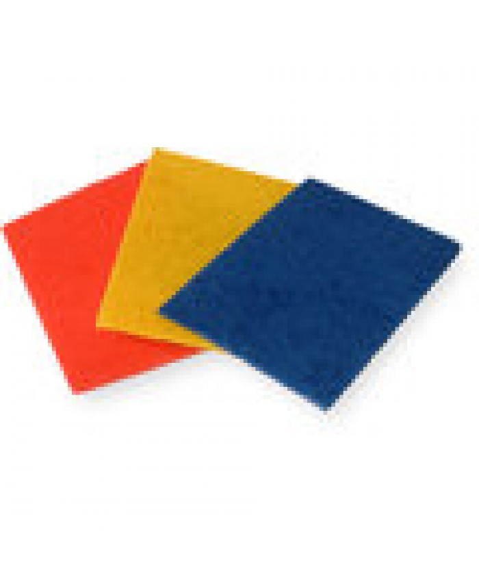 3M Colour Coded Scourer (Pack of 10) Red