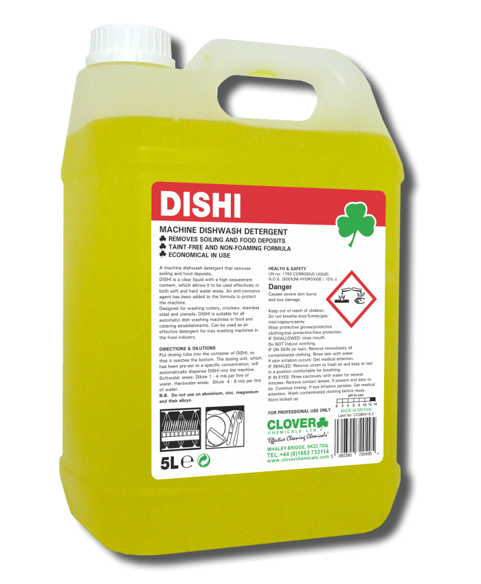 Dishi Dishwash Machine Detergent (5L)