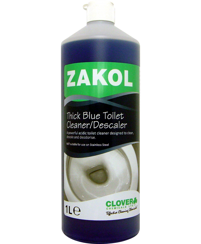 Zakol Acidic Toilet Cleaner/Descaler ( 12 x 1L)