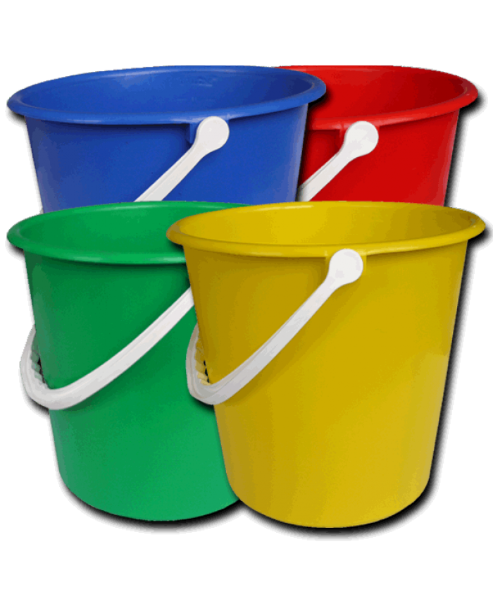 Plastic Bucket Blue (9L)