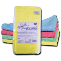 Microfibre Cloths (10 Pack) Blue