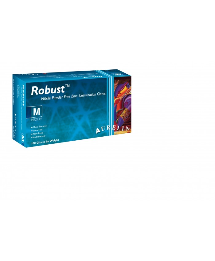 Robust Nitrile Gloves Powder Free (1 x 100) Large