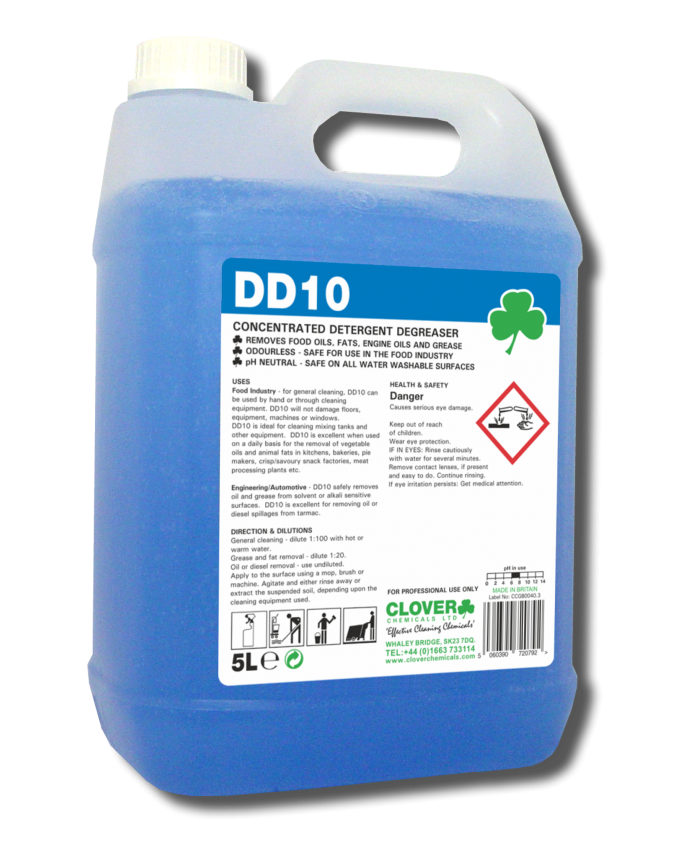 DD10 Concentrated Detergent Degreaser