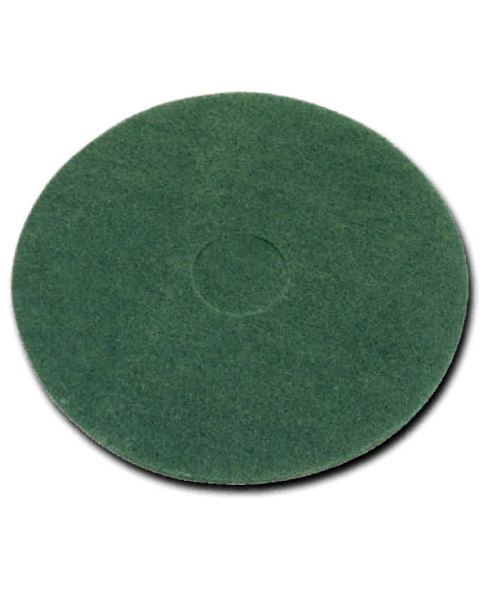"15"" Floor Pads Green Light Stripping  (Case of 5)"