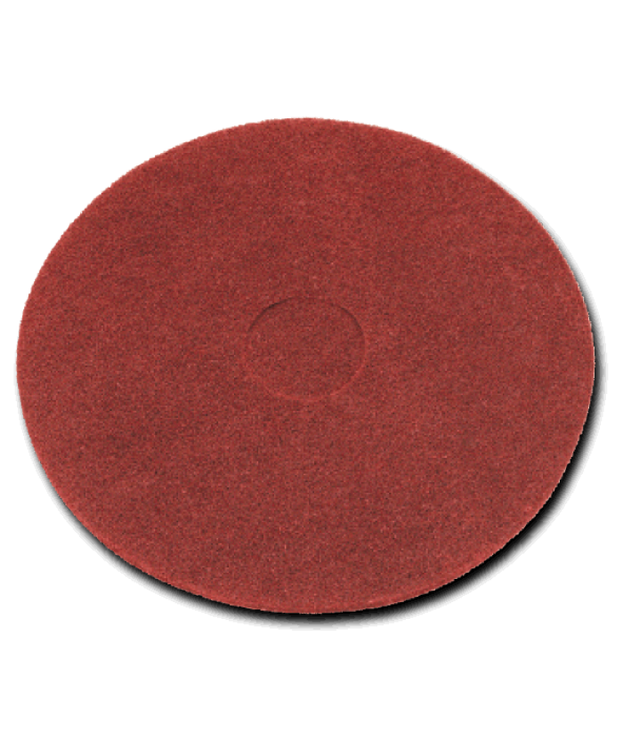 "17"" Floor Pads Red Light Clean/Buffing (Case of 5)"
