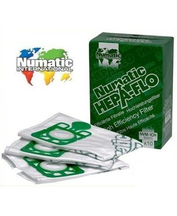 Numatic NVM1C (Henry) Vacuum Bags (Pack of 10)