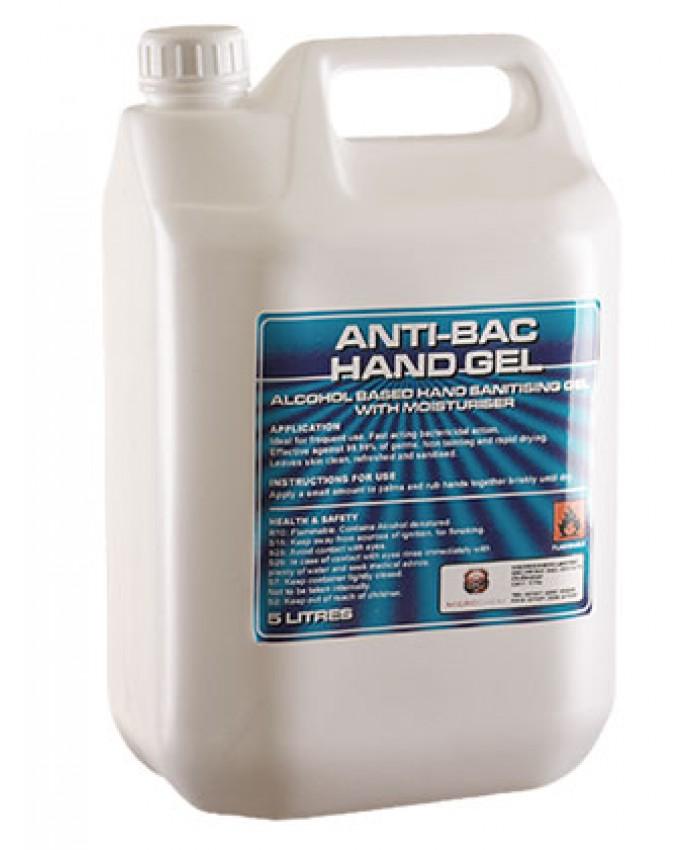Antibac Hand Sanitising Gel 5L (Refill)
