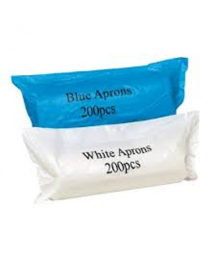 Disposable Aprons (200 Roll) White