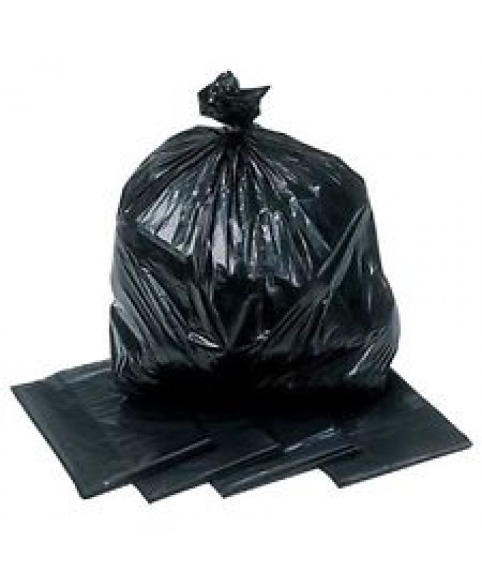 Black Refuse Sacks HD Standard (Case of 200)