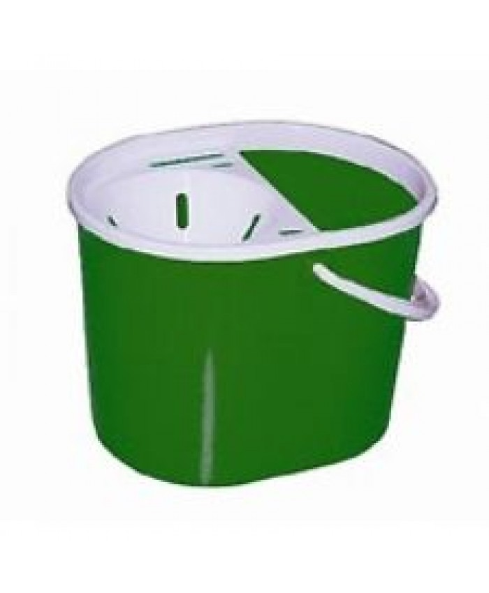 Lucy Plastic Oval Mop Bucket Green