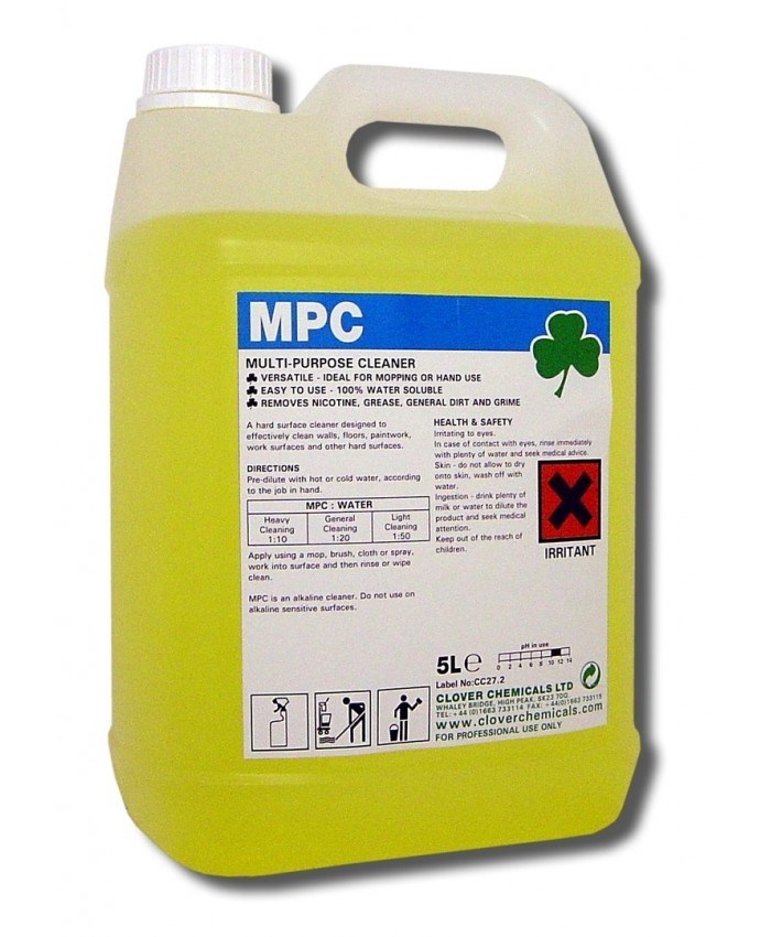 MPC - Fragrance Free Multi Purpose Cleaner (5L)