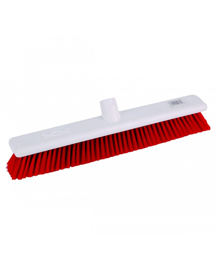 Hygiene Broom Soft Red