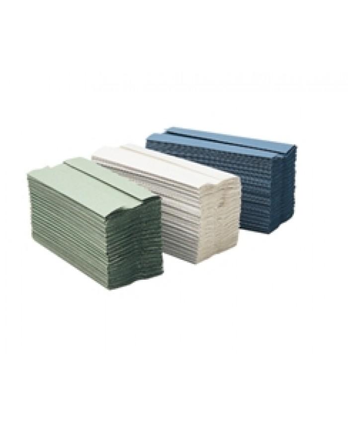 C-Fold Hand Towels Blue 1Ply (2640 Per Case)